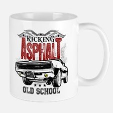 Kicking Asphalt - Charger Small Small Mug