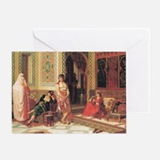 In The Harem Greeting Card