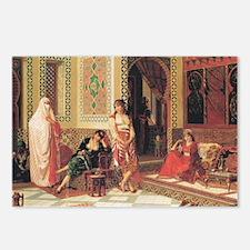 In The Harem Postcards