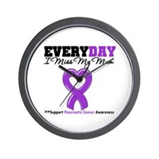 PancreaticCancerMum Wall Clock