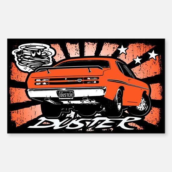 Duster Sticker (Rectangle)