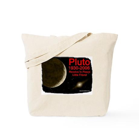 Revolve In Peace Pluto Tote Bag