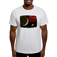 Revolve In Peace Pluto Ash Grey T-Shirt