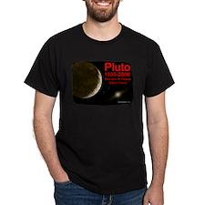 Revolve In Peace Pluto Black T-Shirt