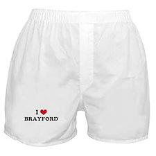 I HEART BRAYFORD  Boxer Shorts