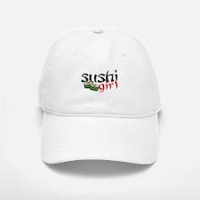 sushi girl Baseball Baseball Cap