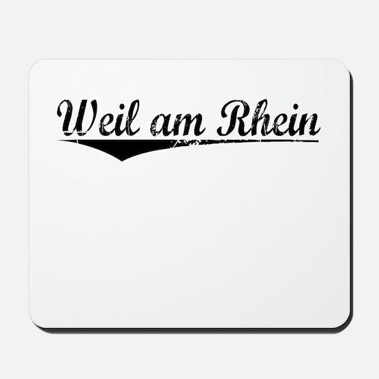 Weil am Rhein, Aged, Mousepad