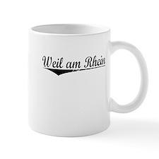 Weil am Rhein, Aged, Mug