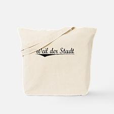 Weil der Stadt, Aged, Tote Bag