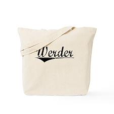 Werder, Aged, Tote Bag