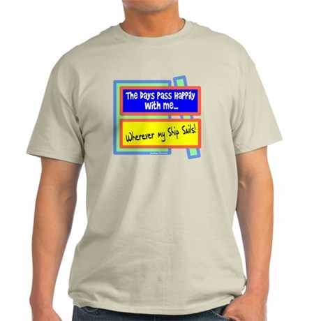 Days Pass Happily-Joshua Slocum/t-shirt Light T-Sh