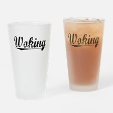 Woking, Aged, Drinking Glass