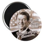 Ronald Reagan Tribute Magnet