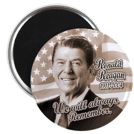Ronald Reagan Tribute Magnet