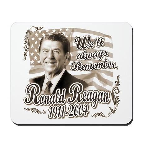 Ronald Reagan Tribute Mousepad
