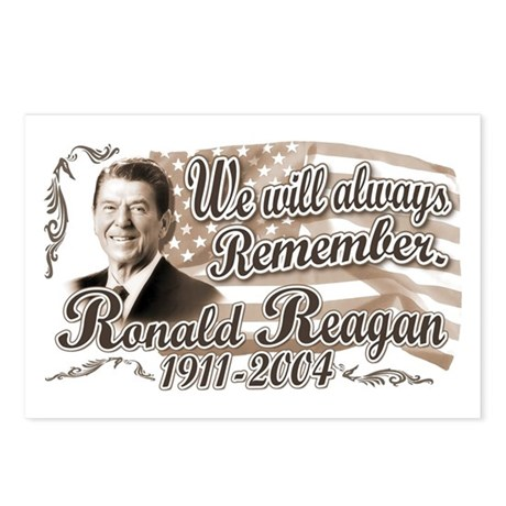 Ronald Reagan Tribute Postcards (Package of 8)