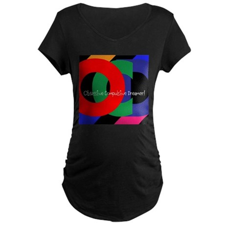 OCD Maternity Dark T-Shirt