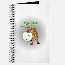 Big Ball Dachshund Dog Journal