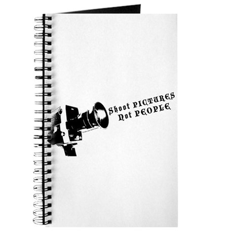 """""""Shoot Pictures Not People"""" Journal by TJP"""