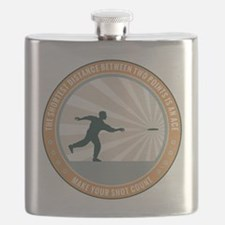 Make Your Shot Count Flask