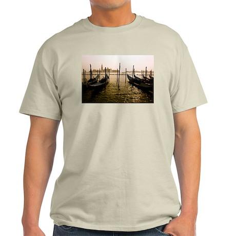 Gondola Venice Italy Light T-Shirt