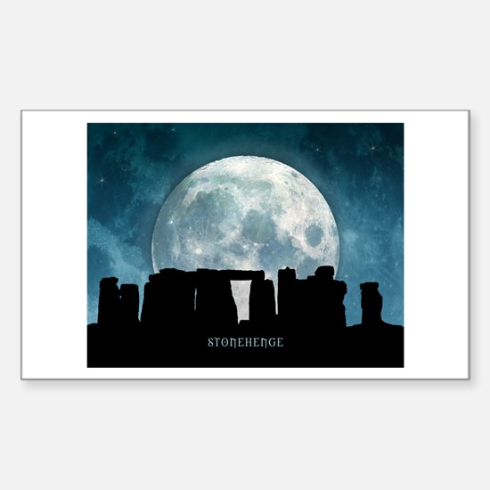 Stonehenge Sticker (Rectangle)