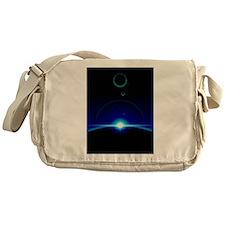 Solar Scene Messenger Bag