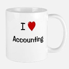I Love Accounting Mug