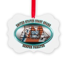 Cute Coast guard Ornament