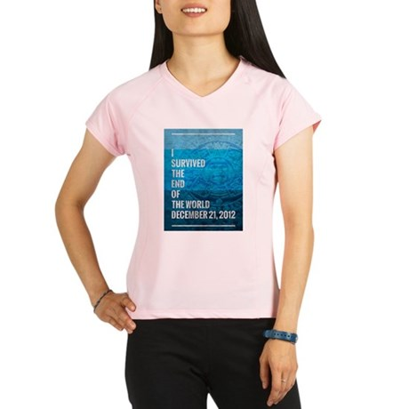 I Survived The End of The World Performance Dry T-