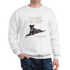 "Pit Bull ""Worthy"" Sweatshirt"
