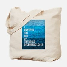 I Survived The End of The World Tote Bag