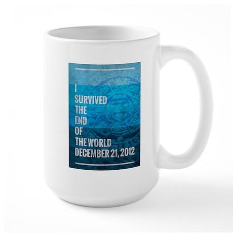 I Survived The End of The World Large Mug