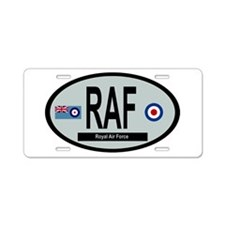 RAF Modern 01 Aluminum License Plate