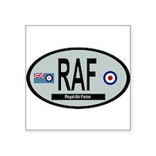 "RAF Modern 01 Square Sticker 3"" x 3"""