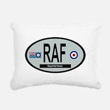RAF Modern 01 Rectangular Canvas Pillow
