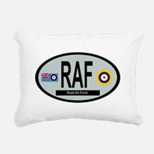 RAF - WW2 Rectangular Canvas Pillow