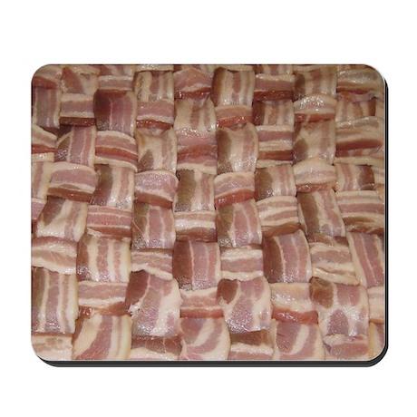 Bacon Weave Mousepad