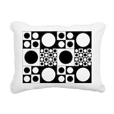 Mod Dots Rectangular Canvas Pillow