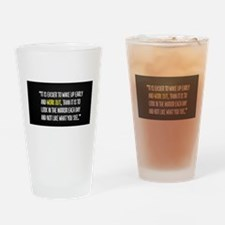 Easy workout (Beast mode) Drinking Glass
