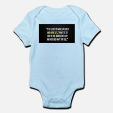 Easy workout (Beast mode) Infant Bodysuit