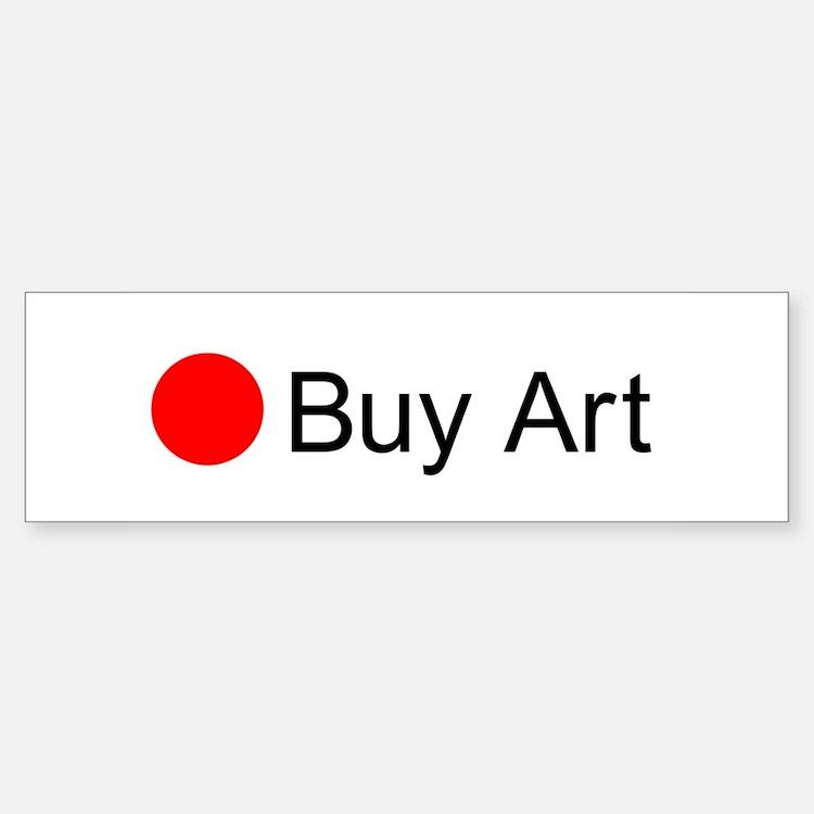 Red Dot Buy Art Bumper Car Car Sticker