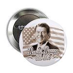 Ronald Reagan Tribute Button 2