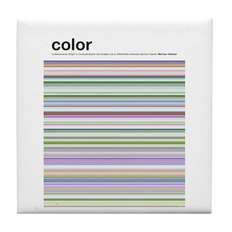 Color Tile Coaster