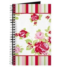 Roses and Stripes Journal