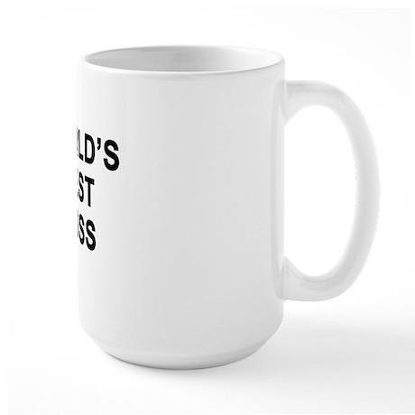 WORLDS BEST BOSS copy Mugs