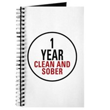 1 Year Clean & Sober Journal