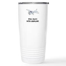 Unique Airplane Travel Mug