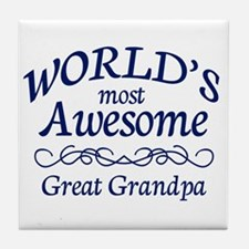 Great Grandpa Tile Coaster