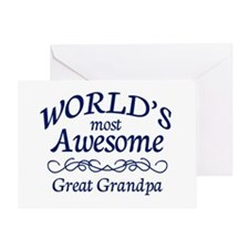 Great Grandpa Greeting Card